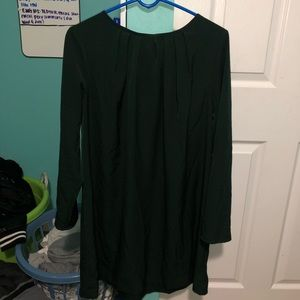 H&M GREEN DRESS IN SIZE 14